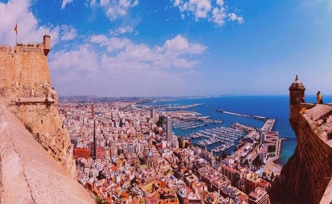 Vistas Alicante desde arriba, el mirador perfecto