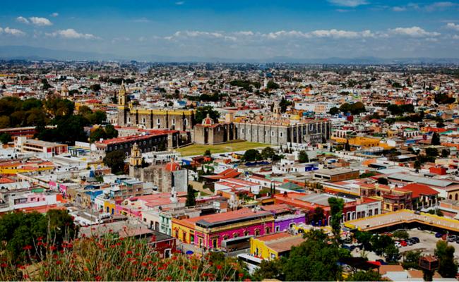 Puebla desde el aire