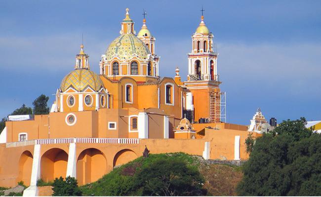 Puebla desde el cielo