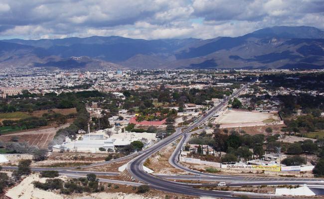 Vista aerea de puebla