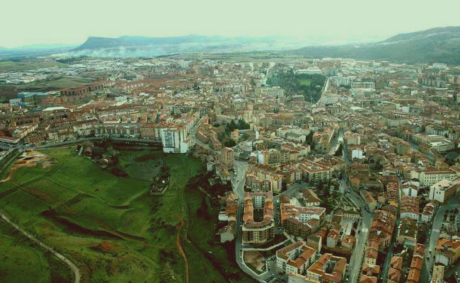 Vista aerea de Soria