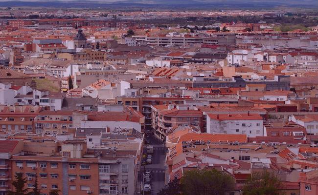 vista aerea ciudad real
