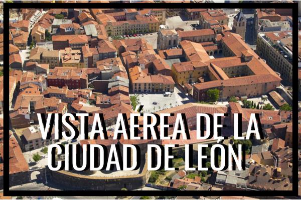 vista aerea de Leon