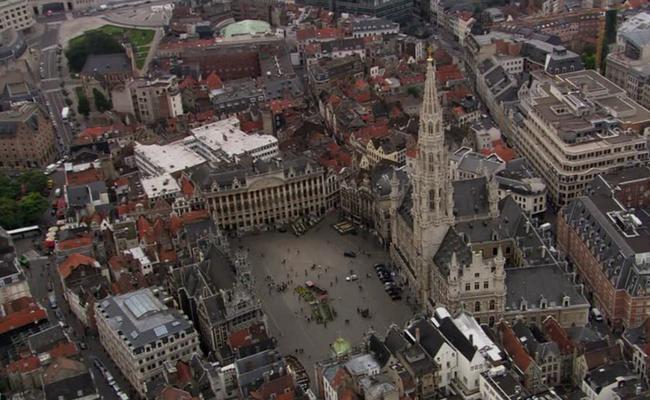 Bruselas vista aerea