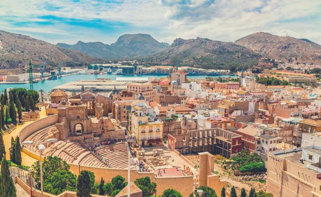 Murcia desde el aire