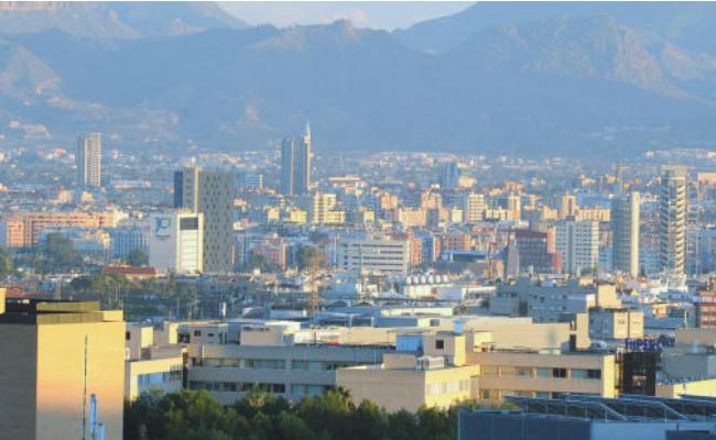Murcia desde el cielo