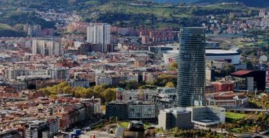 Bilbao desde el aire