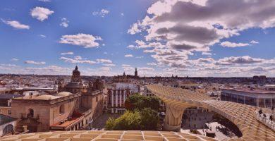 Sevilla desde el aire