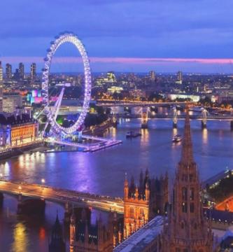 Londres desde el aire