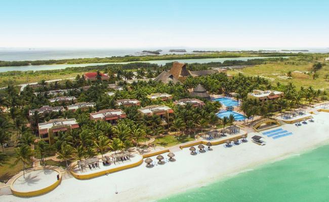 Vista aerea Yucatan