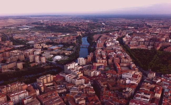 vista aerea Valladolid