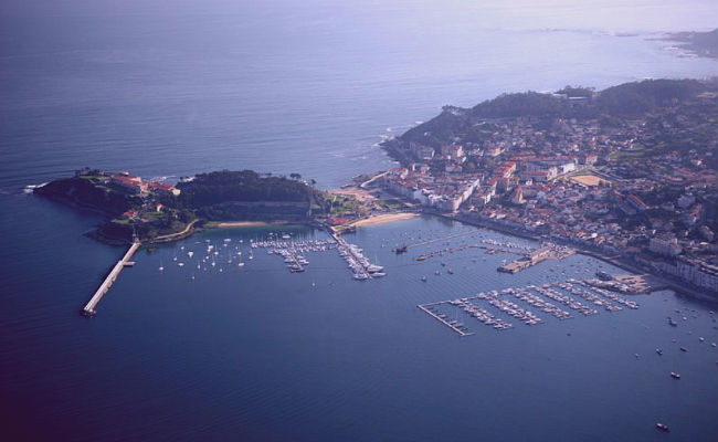 vista aerea de Galicia