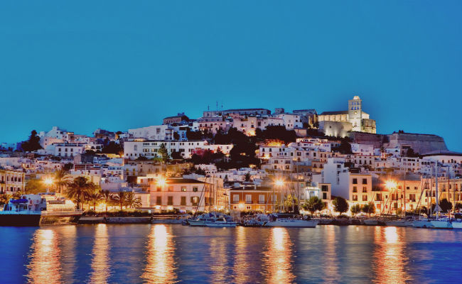 skyline Ibiza