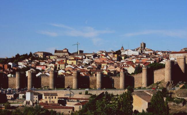 skyline de Avila