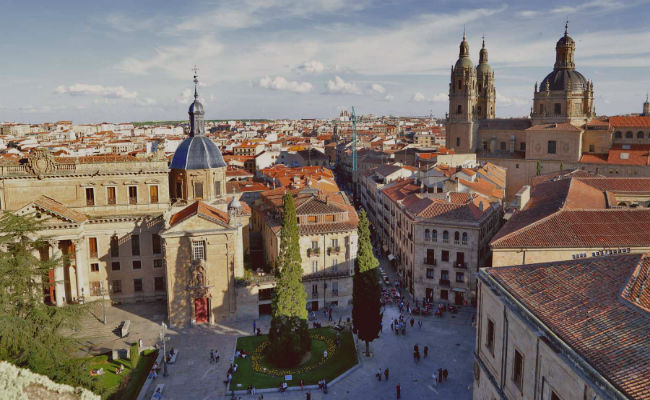 Salamanca desde el Aire