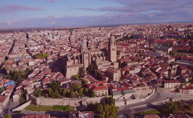 Vista aerea Salamanca