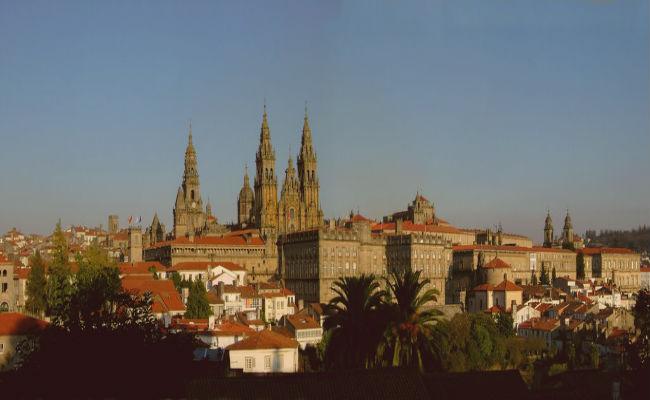 skyline Santiago de Compostela