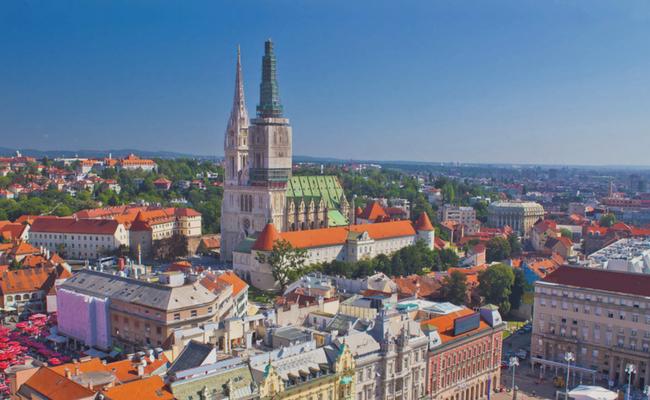 Zagreb desde arriba