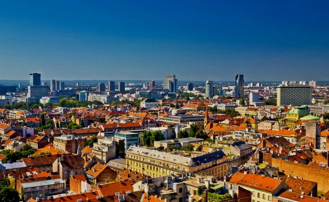 Zagreb vista aerea